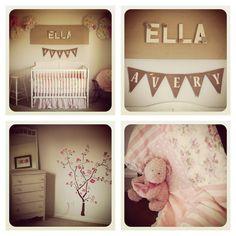 Baby Girl Vintage Rose Room
