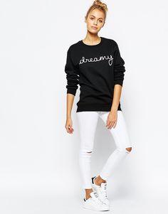 Image 4 ofAdolescent Clothing Boyfriend Sweatshirt With Valentine's Dreamy Print