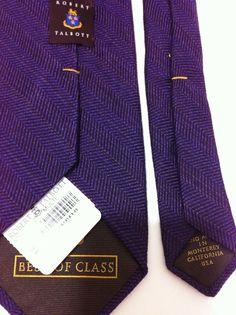 Robert Talbott luxury Sartorial gorgeous Wool/Silk Tie NWT$165(Hand Made in USA) #RobertTalbott #NeckTie