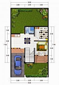 104 Best Denah Rumah Minimalis Images On Pinterest Home Plans