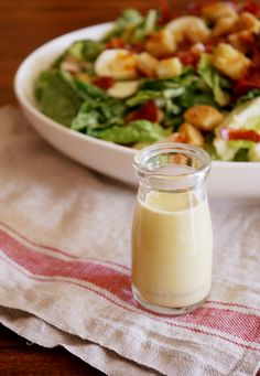 #thermomix #tenina #recipe This is a killer Caesar Salad Dressing, which after all is practically all that matters when you are eating a Caesar Salad...who's with me?? YUM.