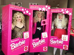 Barbie Dolls group halloween costume (would work for just 1 person as well)