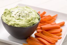 Creamy Avocado Dip: Serve this simple dip with crudites, such as carrots, fennel, endive, and broccoli.  Get the recipe from Delish.
