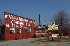 The Herschell Carrousel Factory Museum is basically my second home.  It's in North Tonawanda, NY and it's a wonderful place to visit.