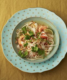 Thai Shrimp Soup with Rice Noodles | Real Simple
