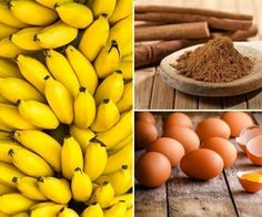 panqueques sin harina - ingredientes
