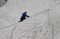 Escalade de glace au chutes de montmorency