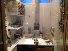 Glass studio - lampwork