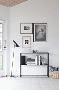 Console styling, simple small gallery wall. Looking for beautiful and unique art photos to create your gallery wall? Visit bx3foto.etsy.com