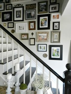 mixed_frames on gallery wall.