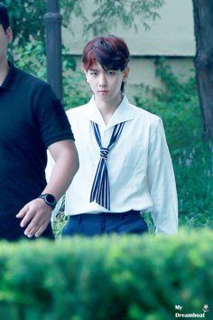 170718 - Fourth Regular Album 'The War' comeback press conference. Baekhyun Hot, Suho Exo, K Pop, Exo Group, Ko Ko Bop, Hapkido, Xiu Min, Exo Memes, Puppy Face