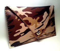 Handmade Military Style Clutch