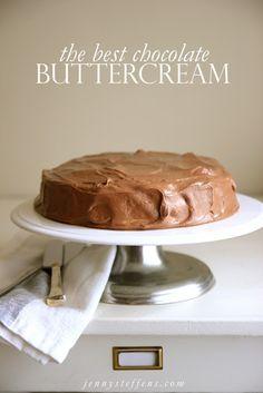 The Best Chocolate Buttercream