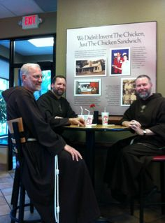 EWTN Priests showing support for the embattled CEO of Chick-fil-A who had the courage to state that he did not support gay marriage.