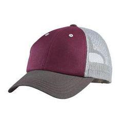 Tri-tone mesh cap
