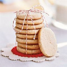 Chai Shortbread Cookies | CookingLight.com
