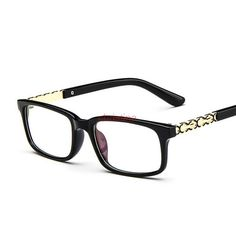 01b05ecad Aliexpress.com : Buy New Brand Designer Women Square Optical Eyeglasses  Eyewear Frame Retro Classic