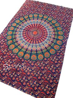 Mandala Tapestry Hippie Tapestry Indian Cotton by Sparshh on Etsy