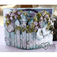 Heartfelt Creations - Christmas Gate Bendi Card Project