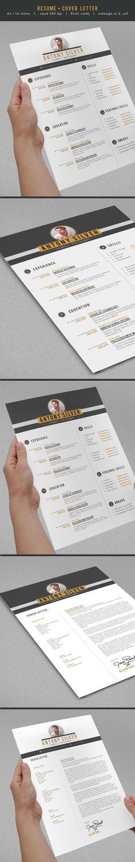 38 best Resumes images on Pinterest Resume design, Resume ideas