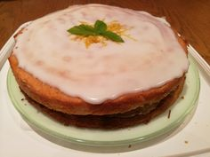 Lemon and Mint Cake A refreshing bake for the summer months Mint Cake, One Pot Dishes, Summer Months, Summer Recipes, Lemon, Pudding, Vegetarian, Bread, Cakes