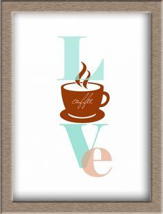 Free Coffee Love Printable. Go to mariqia.wordpress.com
