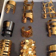 Herve van Der Straeten Cuffs #jewelry #bracelets