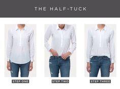 The half tuck.