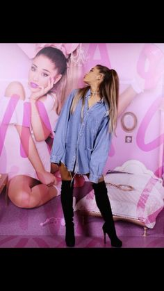 Ariana Grande's Got a Whole New Look There comes a time when every pop star's style must evolve—and Ariana Grande has upgraded her signature look. Ariana Grande Outfits, Ariana Grande Mac, Adriana Grande, Dangerous Woman Tour, My Idol, New Look, Ideias Fashion, Celebrity Style, Celebrity Crush