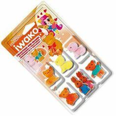 Picked Randomly Assorted Colors Iwako Licensed Sanrio Hello Kitty Erasers