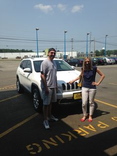 Julie and JR Rathnjenz bought their new 2014 #Jeep #Cherokee from us! We hope you guys enjoy it and come back to see us!