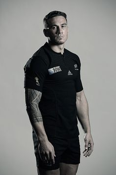 Sonny Bill Williams poses during a New Zealand All Blacks Rugby World Cup Squad Portrait Session on August 31, 2015 in Wellington, New Zealand.