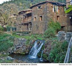 La arquitectura de Robledillo es única en el mundo y está muy bien conservada.