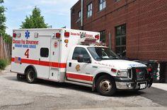 Chicago (IL) Fire Dept. Ambulance 4 Ford F350