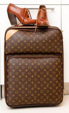 Louis Vuitton Luggage.