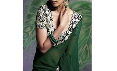 Heavy embellished designer blouse