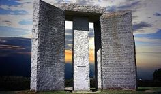 the georgia guidestones are surrounded by controversy due to links to the illuminati and occult symbolism
