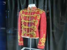 Michael Jackson ONE by Cirque du Soleil: MJ's famous jacket - they also have his Swarovski socks and dancing shoes.