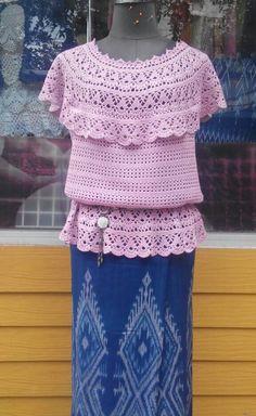 Crochet top ( Thai style )
