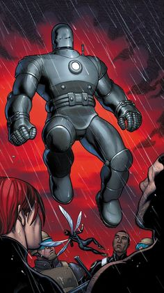 Iron Man Mark 1 by Frank Cho