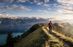 Augstmatthorn Places To Travel, Places To See, Austria, Swiss Alps, Pictures Of People, Bike Life, Hiking Trails, Dream Vacations, Mountain Biking