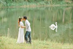 pre wedding or engagement photo from Pang Ung, Mae Hong Son, Thailand