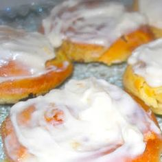 Cinnabon Copycat Cinnamon Rolls with Warm Water, Dry Yeast, Granulated Sugar, Vanilla Pudding Mix, Butter, Large Egg, All Purpose Flour, Butter, Brown Sugar, Ground Cinnamon, Cream Cheese, Butter, Vanilla Extract, Confectioner's Sugar, Milk. Confectioners Sugar, Granulated Sugar, Best Cinnamon Rolls, Vanilla Pudding Mix, Cinnabon, Instant Yeast, Icing Recipe, Large Egg, Ground Cinnamon