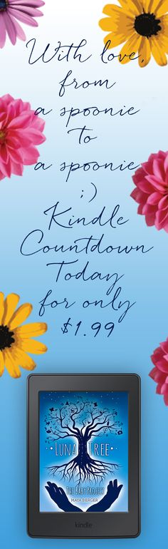 #thelunatree by #mayaberger is on #kindlecoundtown for $1.99 today only. Get it now! Starts 8am PST. #autoimmune #spoonie #spondy #chronicpain