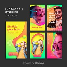 Discover thousands of copyright-free vectors. Graphic resources for personal and commercial use. Thousands of new files uploaded daily. Instagram Story Template, Instagram Story Ideas, Social Media Pages, Social Media Design, Sketch Inspiration, Graphic Design Inspiration, Web Design, Creative Flyers, Futuristic Technology