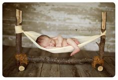 adorable prop/setup for newborn copyright swanky5studios