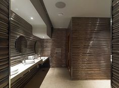 Restroom design by JZA+D at Waku Ghin Restaurant in Singapore