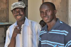 Very important men in the Gambia