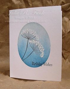 summer silhouettes, SU!, Ink: bashfull blue, not quite navy, white embossing