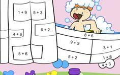 Calcule e Pinte! Jogos de Matemática Online grátis. Fique craque na adição, subtração e tabuadas de multiplicação. Jogando fica mais fácil e divertido aprender. Brinque com seus amigos e confira quem é o mais rápido em fazer contas de cabeça! Christmas Tree Poster, Comics, 3d, Multiplication Times Table, Educational Games, Meme Faces, Second Grade, Easy Drawings, Hilarious